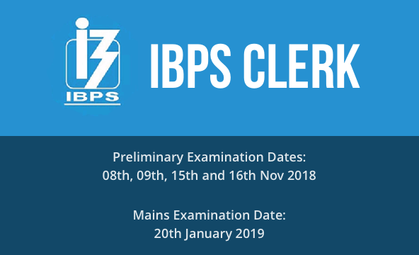 IBPS Cler Recruitment 2018 - Result - Admit Card